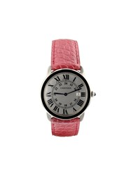 Cartier 2010 Pre Owned Ronde Solo Steel 36Mm 60