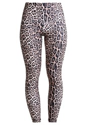 Onzie Tights Leopard Brown