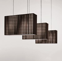 Axo Light Clavius Small Pendant Black Brown Ivory