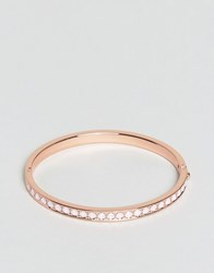 Ted Baker Clemara Hing Crystal Bangle Rose Gold