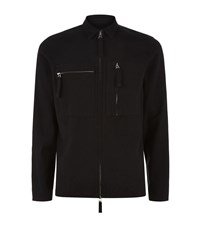 Blood Brother Labor Zip Shirt Male Black