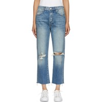 Amo Blue High Rise Loverboy Jeans