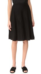 Salvatore Ferragamo Pleated Skirt Nero