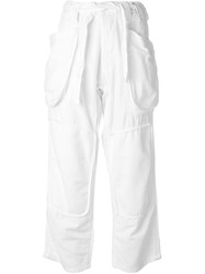 Nlst Patch Pocket Trousers White