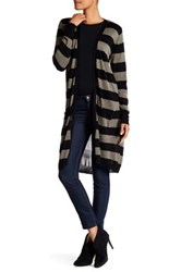 Joseph A Two Pocket Stripe Duster Green