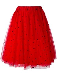 P.A.R.O.S.H. Tulle Layered Skirt Women Cotton Polyamide Polyester Viscose S