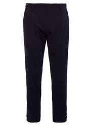 Wooyoungmi Adjustable Cuff Wool Blend Trousers
