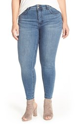 Plus Size Women's Melissa Mccarthy Seven7 High Rise Stretch Pencil Jeans Hampton