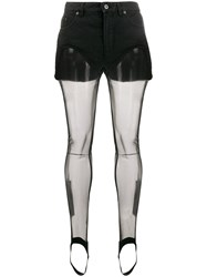 Y Project Shorts With Tights Black