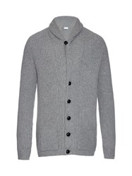 Raey Chunky Ribbed Knit Wool Blend Cardigan