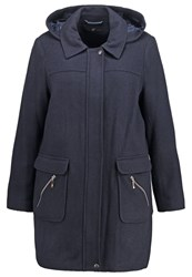 Evans Short Coat Navy Dark Blue
