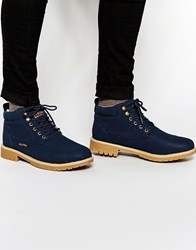Rock And Religion Work Boots Navy