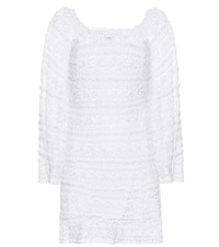 Anna Kosturova Bella Cotton Dress White