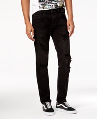 Young And Reckless Men's Carthage Black Skinny Jeans