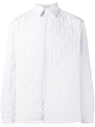 Balenciaga Quilted Shirt White