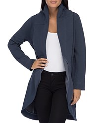 B Collection By Bobeau Peri Knit Open Front Jacket Navy