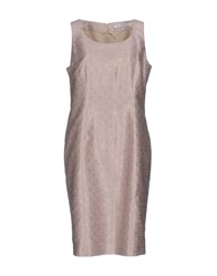 Gai Mattiolo Knee Length Dresses Pink