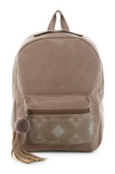 T Shirt And Jeans Natural Instinct Backpack Gray