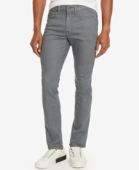Kenneth Cole Reaction Men's Slim Fit Gray Denim Jeans Grey