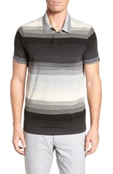 Oakley Lateral Polo Shirt Athletic Heather Grey