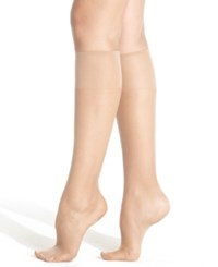Hanes Silk Reflections Knee Highs Sheers 6 Pack 725 Jet
