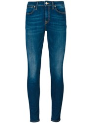Vivienne Westwood Anglomania Stretch Cropped Skinny Jeans Blue