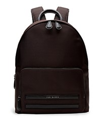 Ted Baker Nylon Backpack Chocolate
