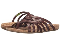 Ahnu Maia Thong Brandy Women's Shoes Brown