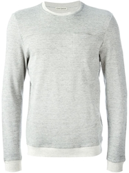 Oliver Spencer Contrast Trim Sweatshirt Grey