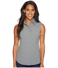 Columbia Silver Ridge Ii Sleeveless Shirt Sedona Sage Women's Sleeveless Gray