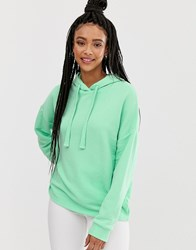 Pull And Bear Pullandbear Oversized Hoodie In Green