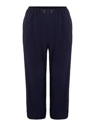 Tigi Crop Trousers Navy