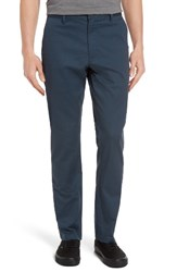 Rvca Men's 'The Week End' Slim Straight Leg Stretch Twill Chinos Midnight