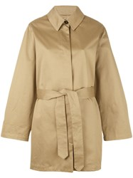 Barena Trench Coat Women Cotton 42 Nude Neutrals