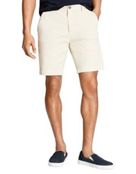 Brooks Brothers Stretch Twill Shorts Natural