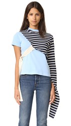 Jacquemus Knots Tee Shirt Sky Blue