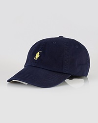 Polo Ralph Lauren Signature Pony Hat Relay Blue
