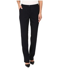 Ivanka Trump Crepe Straight Leg Pants Navy Women's Clothing