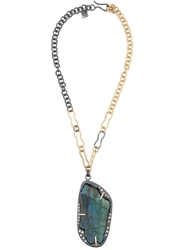 Kelly Wearstler 'Franklin' Necklace Metallic