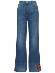 Gucci Cotton Denim Flared Jeans