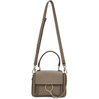 Chloe Grey Mini Faye Day Bag
