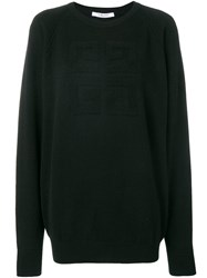 Givenchy Basic Logo Jumper Black