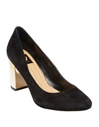 Dolce Vita Dollie Suede Pumps Black
