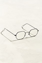 Urban Outfitters Metal Octagon Readers Black