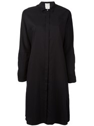 Stephan Schneider Shirt Dress Women Cotton Cupro L Black