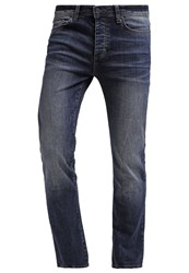 Pier One Straight Leg Jeans Blue Denim