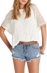Billabong Women's Island Castaway Knit Top