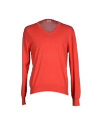 Andrea Fenzi Knitwear Jumpers Men Red