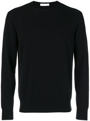 Cruciani Cashmere Crew Neck Sweater Black