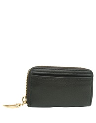 Tusk Donnington Zip Coin Card Case Black